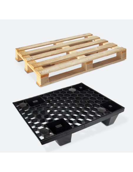 Pallet in legno d'abete