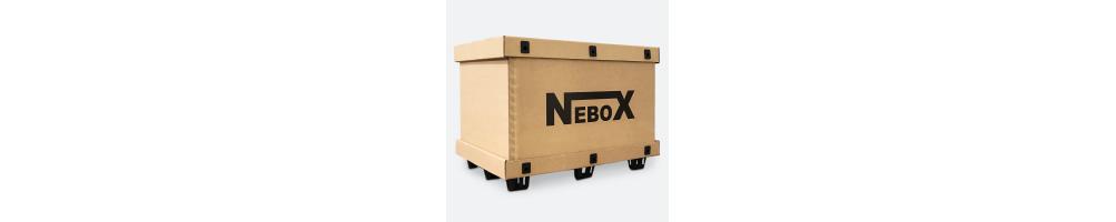 Scatole Cartone con Coperchio - NeboX