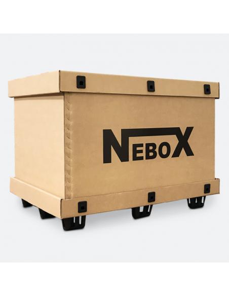 NeboX: scatole con coperchio, anello e fondo