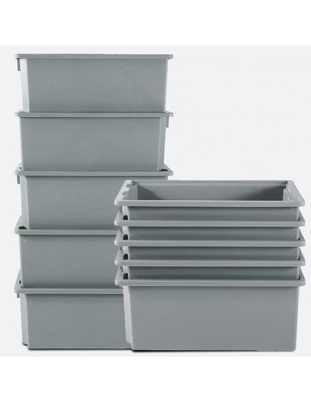Contenitori in plastica industriali
